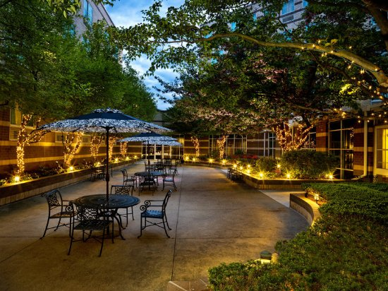 Needham, MA: Courtyard Night