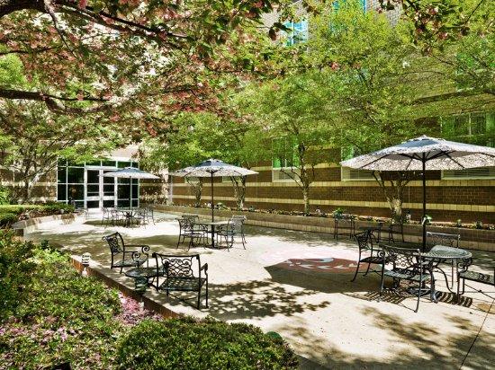 Needham, MA: Courtyard Day