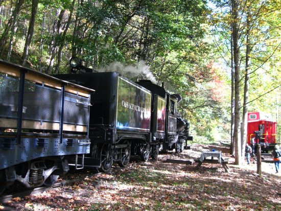 Durbin, Virginia Barat: The Castaway caboose stop
