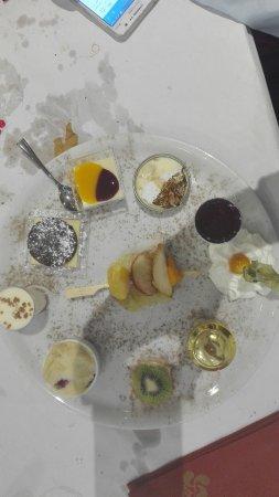 Restaurant Aintzira Le Lac: Douceurs...