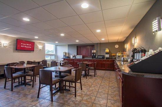 Batavia, NY: Breakfast Area
