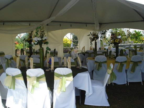Trincity, Trinidad: Wedding Held on our Grounds