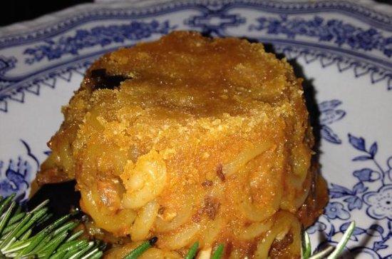Cours de cuisine de pâtes siciliennes...