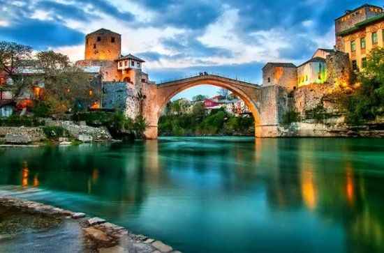 Mostar, Pocitelj and Kravice Waterfalls Private Tour from Dubrovnik: Mostar Pocitelj Kravice Waterfalls and Village Ravno Winetasting Private Tour from Dubrovnik