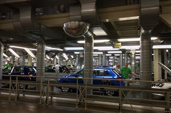 Private Skoda Car Company Factory and...