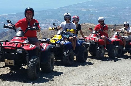 Tour in quad di Taormina