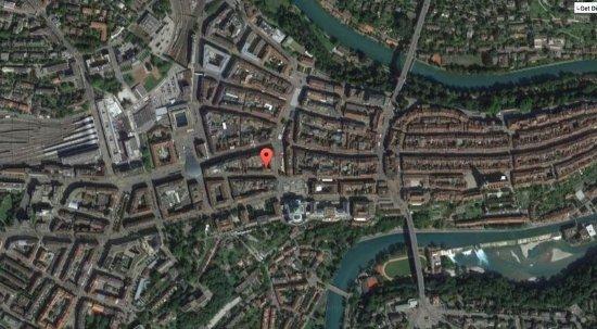 Map Picture of Hotel Baren am Bundesplatz Bern TripAdvisor