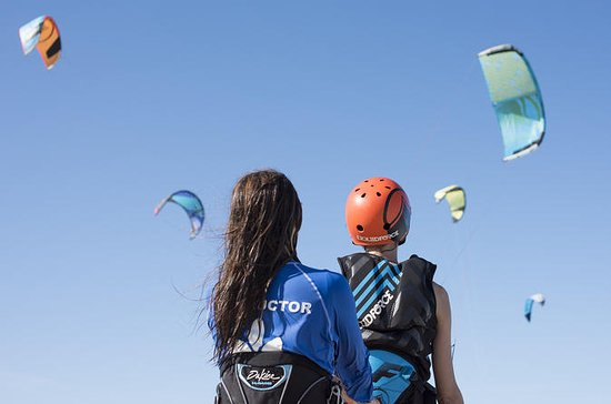 Beginners Kitesurfles