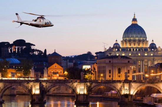 Helicopter Tour above Rome and
