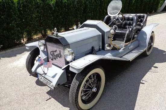 Recorrido por Sliven con Ford T...