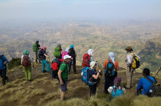 7 Tage Trek in Simien Mountains