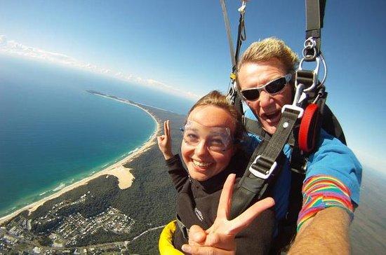 Tandem Skydive over Fraser Island
