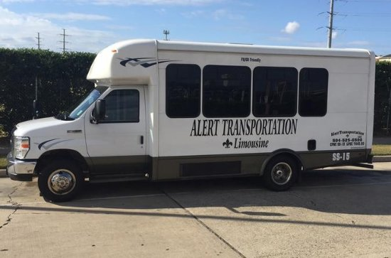 14 Passenger New Orleans Airport or Hotel Transfer