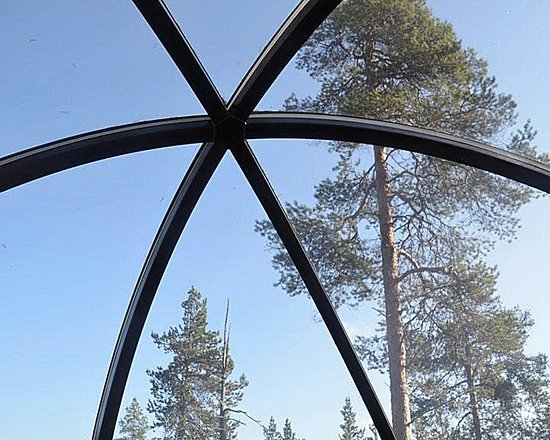 Nellim Wilderness Hotel: View from the bubble.