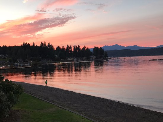 Union, WA: Sunset on the Hood Canal