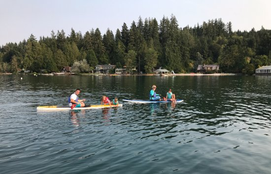 Union, WA: Stand up paddle boards