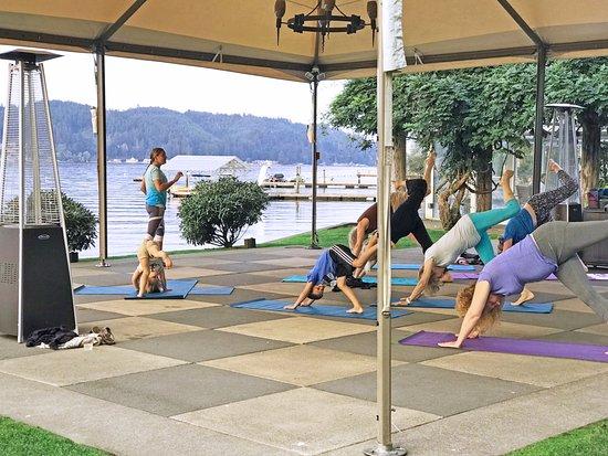 Union, WA: Yoga Class