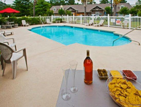 Microtel Inn & Suites by Wyndham Brunswick North: Pool