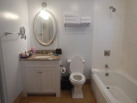 Beaches Turks & Caicos Resort Villages & Spa: Lower floor bathroom in 2BR Family Suite KWV
