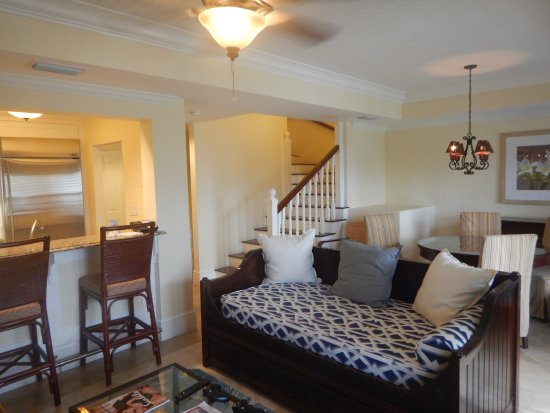 Beaches Turks & Caicos Resort Villages & Spa: Main room of 2BR Family Suite in KWV