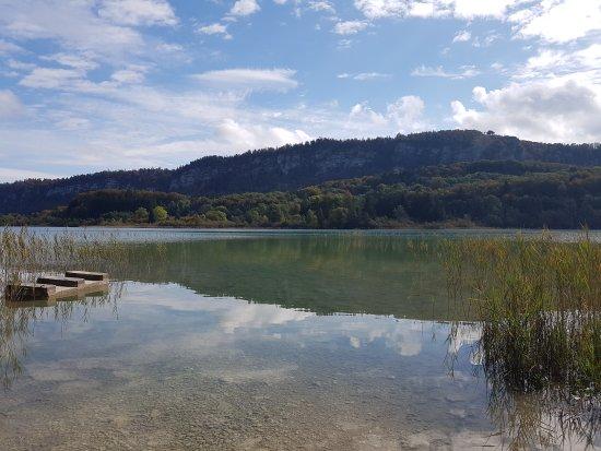 Le Frasnois, Frankrig: Lac d'Ilay