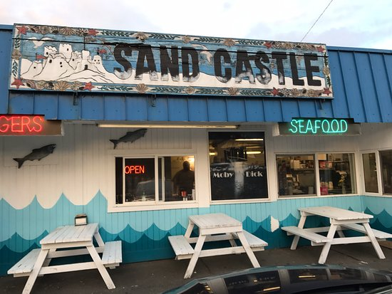 Ocean Shores, واشنطن: Remnants of the Sand Castle