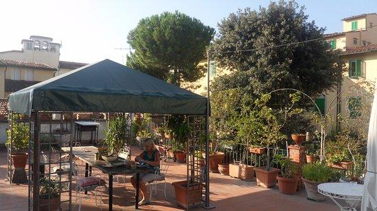 Hotel Il Bargellino: The terrace