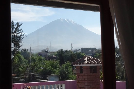 Casa Arequipa: The view from teh breakfast room.