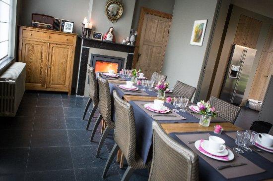 Pastorie van Merkem: Breakfast room