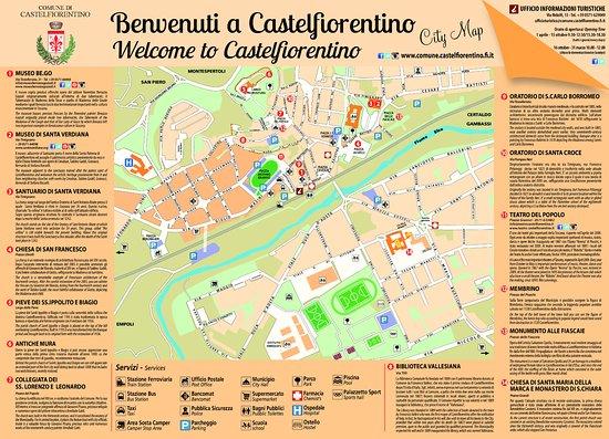 Ufficio Informazioni Turistiche: La nostra carta turistica a disposizione degli utenti dell' Ufficio turistico.