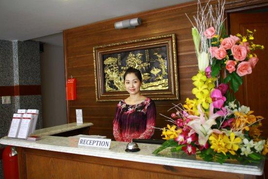 Little Saigon Boutique Hotel: Reception