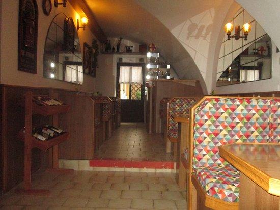 Novy Jicin, Czech Republic: místnost pro hosty penzionu
