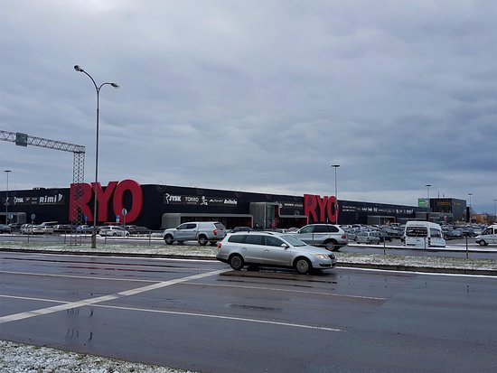 Паневежис, Литва: bigest shoping mall in Panevezys