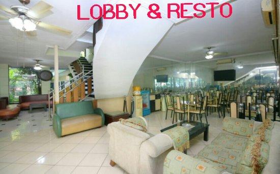Global Inn Juanda: Lobby - Resto