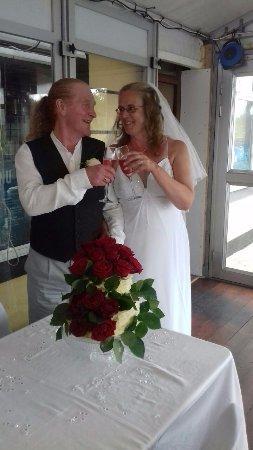 Kilbaha, Ireland: Greg & Gaynors wedding blessing meal x