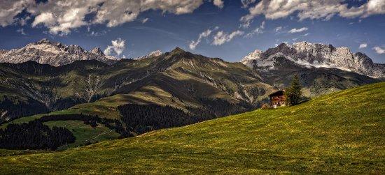 Malans, Svájc: Wanderungen im Prättigau