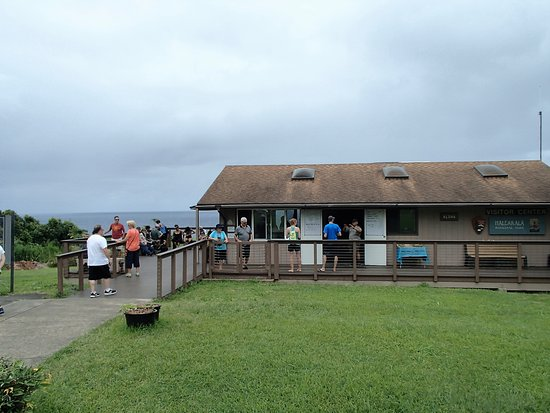 Ohe'o Gulch: VISITOR CENTER