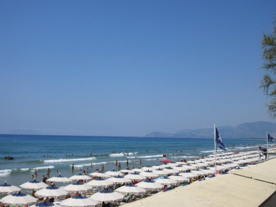 Sperlonga, Italy: The Lido