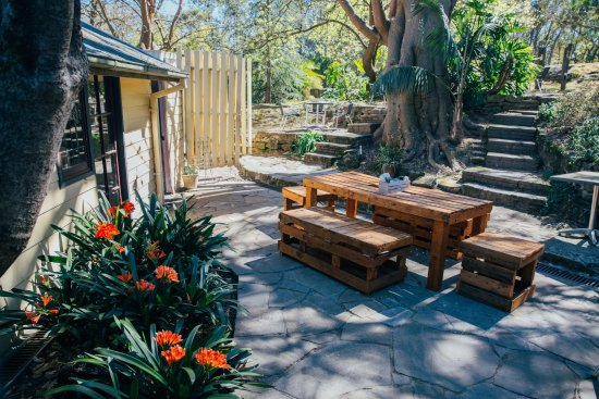 Faulconbridge, Australien: Outdoor dining