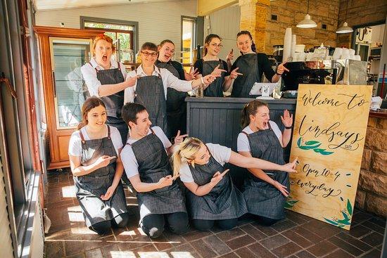 Faulconbridge, Australien: Some of the Lindsay's Team - Fun & friendly