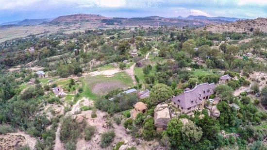 Morija, ليسوتو: Maisons d'hotes integrees dans le paysage/ Guest houses as part of the natural landscape