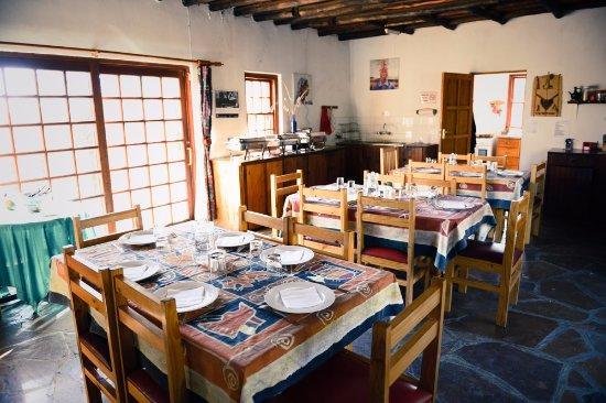 Morija, ليسوتو: Salle a manger/dining-room (2)