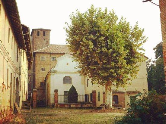 Olevano di Lomellina, Италия: Uno scorcio dell'interno del Castello