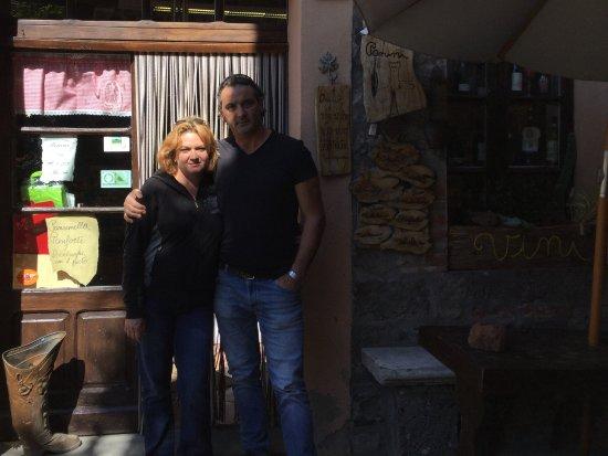 Radicofani, Italia: Viva la cacia