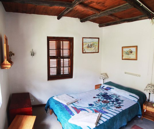 Morija, Lesotho : chambre double dans maison principale/double room in main house
