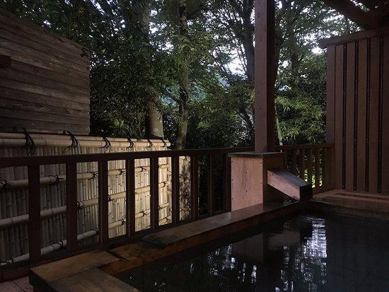 Ashikari: 京:露天風呂夜景