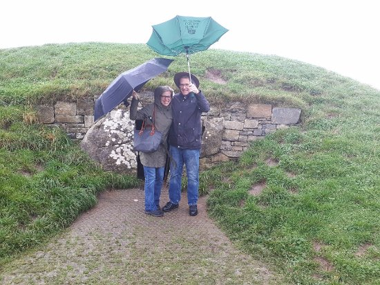Kells, Ierland: Up, up and away on the Tara Hill