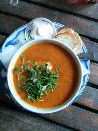 Djurgarden, Sweden: Seafood soup
