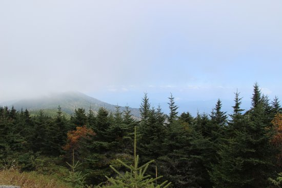 Burnsville, Carolina del Norte: View from Mt. Mitchell