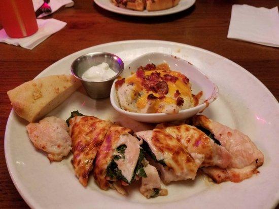 Lexington, SC: Baked Stuffed with loaded garlic mashed potatoes